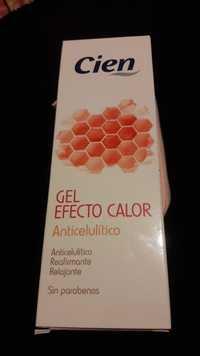 Cien - Gel efecto calor - Anticelulitico