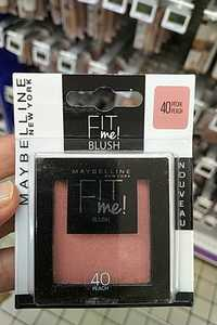 MAYBELLINE NEW YORK - Fit me! Blush 40 pêche