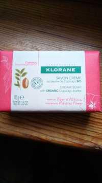 KLORANE - Savon crème au beurre de cupuaçu bio