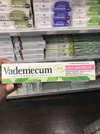 VADEMECUM - Soin sensibilité - Dentifrice