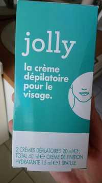 JOLLY - La crème dépilatoire pour le visage