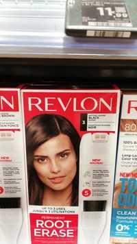 REVLON - Permanent root erase Noir