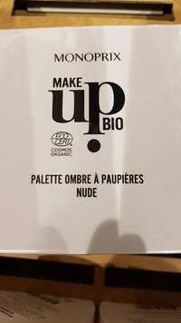 MONOPRIX - Make up bio - Palette ombre à paupières Nude