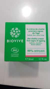 Biovive - Crème de vitalité premiers signes de l'âge