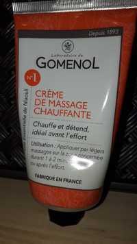 LABORATOIRE DU GOMENOL - N°1 - Crème de massage chauffante