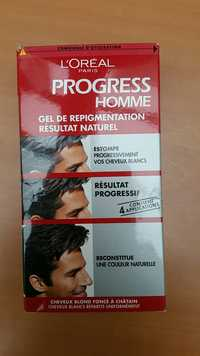 L'Oréal - Progress homme gel de repigmentation résultat naturel