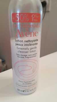 Avène - Lotion nettoyante peaux intolérantes