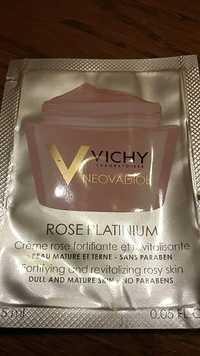 VICHY - Crème neovadiol rose platinium