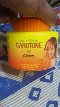 CAROTONE - Light & natural - Crème clarifiante DSP10