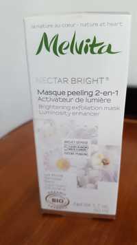 Melvita - Nectar Bright - Masque peeling 2 en 1