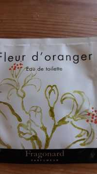 Composition Fragonard Fleur D Oranger Eau De Toilette Ufc Que
