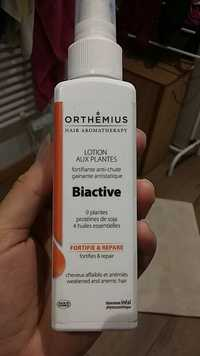 ORTHEMIUS - Biactive - Lotion aux plantes fortifie & repare