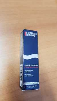 Biotherm - Homme Force suprême - Eye architec sérum