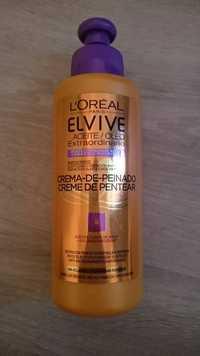L'Oréal - Elvive aceite extraordinario - Creme de pentear