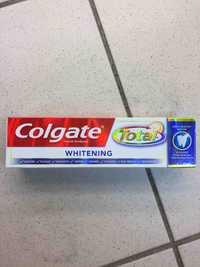 COLGATE - total whitening
