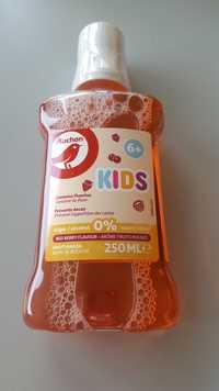 Auchan - Kids 6+ - Bain de bouche arôme fruits rouges