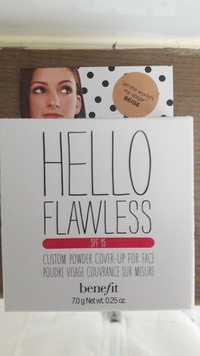 BENEFIT - Hello flawless - Poudre visage couvrance sur mesure SPF 15