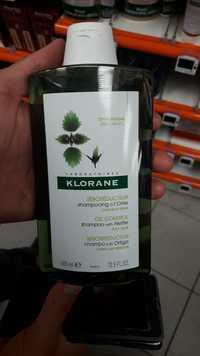 KLORANE - Séboréducteur - Shampooing à l'Ortie