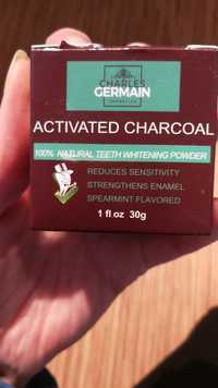 Charles Germain Cosmetics - Activated charcoal - 100% Natural teeth whitening powder
