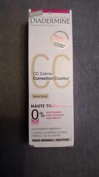 DIADERMINE - CC crème - Correction couleur Teinte nude