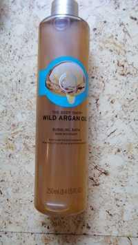 THE BODY SHOP - Wild argan oil - Bain moussant