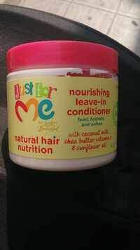 JUST FOR ME - Natural hair - Nourishing leave-in conditioner