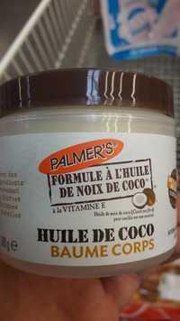 PALMER'S - Huile de coco - Baume corps