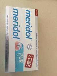 Meridiol - Tandpasta met fluoride