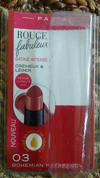 Bourjois - Rouge fabuleux satiné intense crémeux & léger