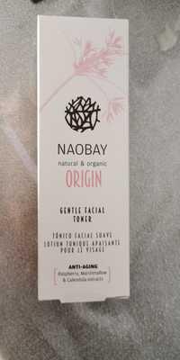 Naobay - Origin - Lotion tonique apaisante pour le visage